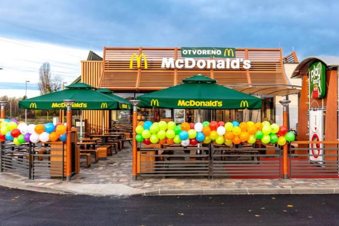 Otvoren McDonald's Buzin