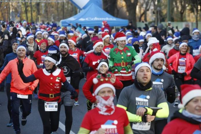 ZAGREB ADVENT RUN: Organizatori očekuju da će ova atraktivna utrka privući 3000 trkača