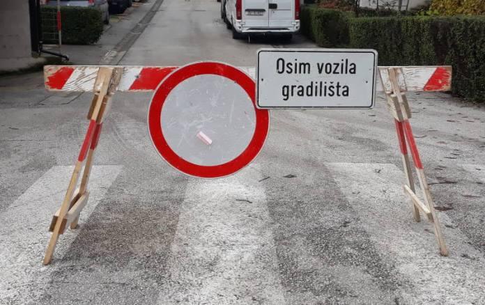 Radovi - zabranjen promet