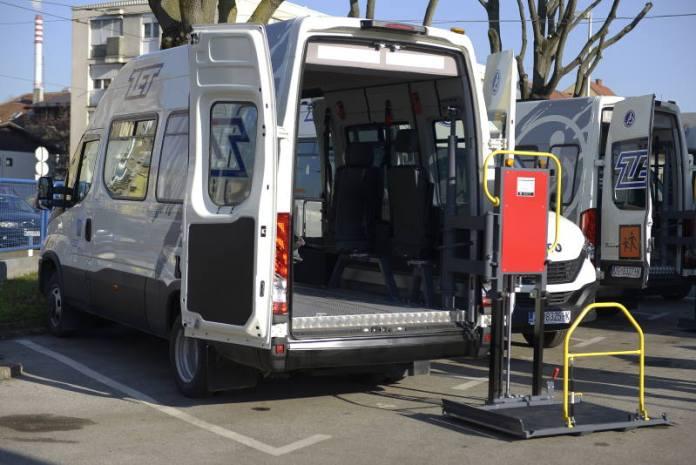 ZET dobio nova vozila za prijevoz osoba s invaliditetom i djece s poteškoćama u razvoju