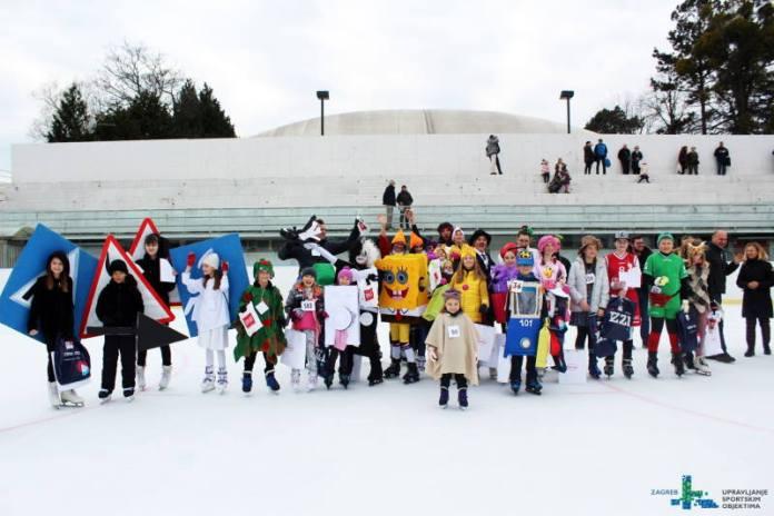 Na klizalištu SRC Šalata po 30. put održan Maskenbal na ledu, okupilo se više od 300 maškara