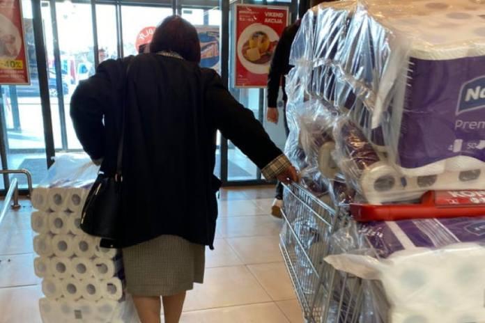 OBJAVLJENI PODACI: Čega su sve Hrvati nakupovali zbog koronavirusa, prodaja nekih proizvoda skočila 410 %