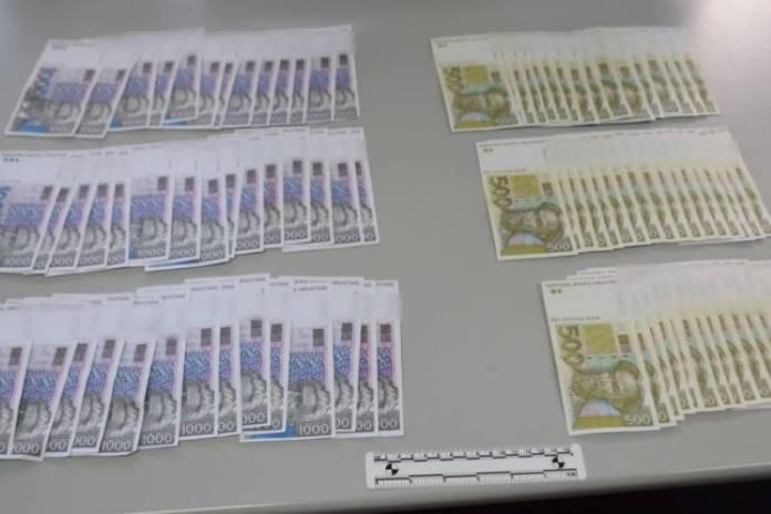 Krivotvorene novčanice platio drogom, a zatim ih na razne načine stavljao u opticaj