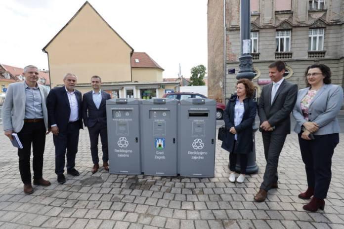 Grad Zagreb dobio EcoMobile – beskontaktne pametne spremnike za upravljanje otpadom