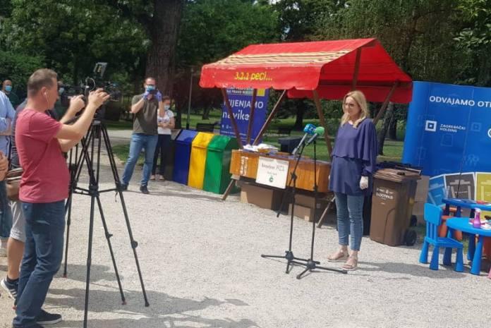 ART PARK ZAGREB: U parku Ribnjak održana radionica o postupanju s otpadnom plastikom