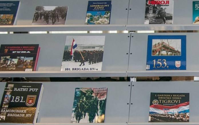 U povodu Dana pobjede i domovinske zahvalnosti NSK priređuje izložbu knjiga o Oluji