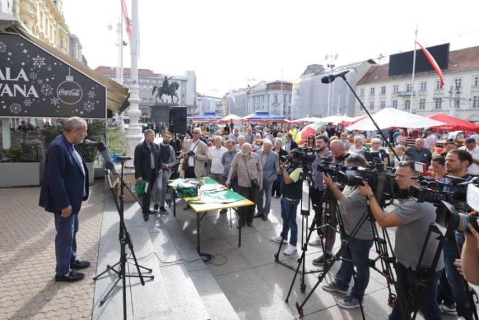 Na Trgu bana Jelačića otvoreni 9. Dani hrvatskih tržnica