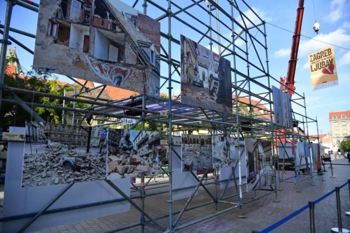 Na Europskome trgu otvorena izložba Zagreb - grad koji treba našu ljubav