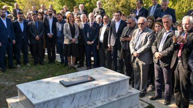 Photo of 90 vjet nga vrasja e Atë Shtjefën Gjeçovit, përurohet rastaurimi i varrit të tij