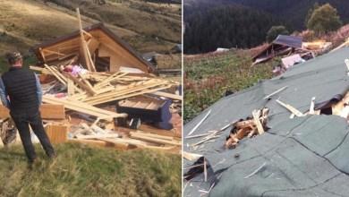 Photo of Mali i Zi rrënon stanet e Shqiptarëve në kufi, shqetësohen banorët