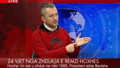 """Photo of """"Berisha porositi vrasjen e babait tim"""", flet djali i Remzi Hoxhës: Është shpirtlig, kush është argatja e tij në Prokurori (VIDEO)"""