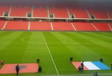 """Photo of Momenti i shumëpritur po vjen, """"Air Albania Stadium"""" gati për Francën (FOTO)"""