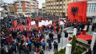 Photo of Lugina në këmbë me 28 nëntor, kërkon bashkimin me Kosovën!