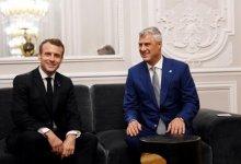 Photo of Presidenti Thaçi takon presidentin Macron: Kosova është e gatshme për Marrëveshje të Paqes