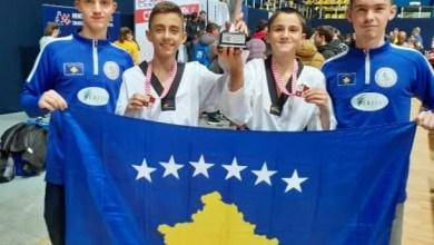 """Photo of Shqiptarët rrëmbejnë medalje të arta në """"Croatia Open G1 2019"""""""
