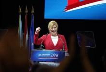 Photo of Presidentja kroate publikon hartën e Evropës me Kosovën si pjesë e Serbisë (FOTO)