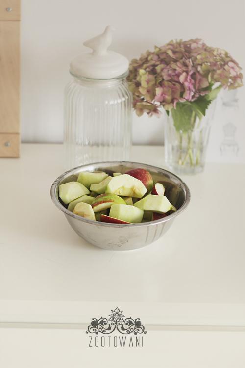 kompot z jablek i winogron 4