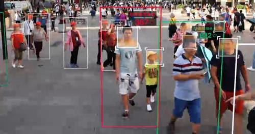 Watch: Chinese Social Credit Score Publicly Shames 'Bad Citizen' For Jaywalking
