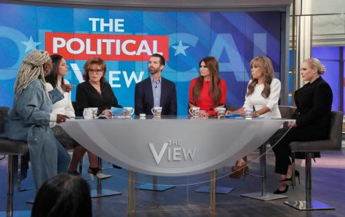 Gabbard And Trump Jr. Change America's View Of 'The View'
