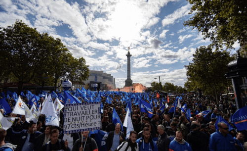 French Police Stage Massive 'Anger March' Over Working Conditions, Low Morale And Suicide Crisis