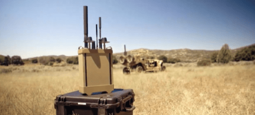 Border Patrol Installing Invisible Shields At Wall To Stop Drug Smuggling Drones