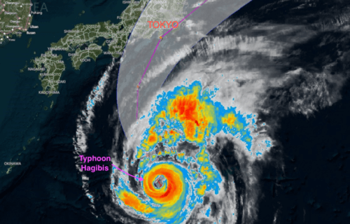 Japan Braces ForTyphoon Hagibis Could Be Strongest In Decades