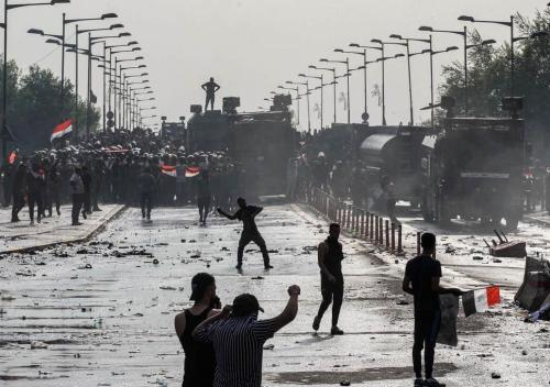Martial Law Unfolding In Iraq: 30 Protesters Shot, Internet Blackout, 24-Hour Curfews