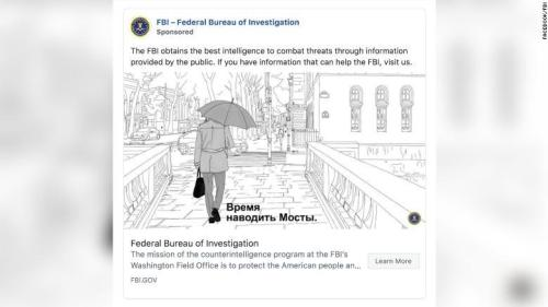 The FBI Is Running Facebook Ads To Target And Recruit Russian Spies In Washington D.C.