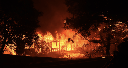 """""""My House Could Be Burning Right Now"""": LA Menaced By Wildfires Burning Across California"""