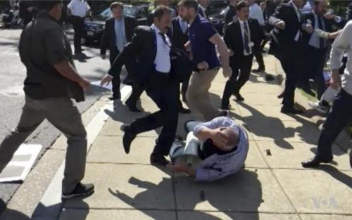 D.C. Braces For Erdogan Visit Next Week: Here's What Happened Last Time