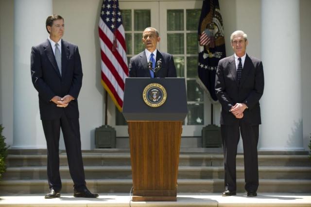 Comey, Obama, Mueller