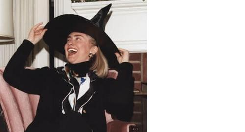 Hillary Finally Admits She's A 'Real' Witch