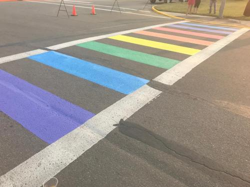 Iowa Town Refuses Federal Request To Remove 'Inclusive' Rainbow Crosswalks