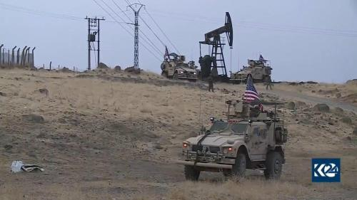 """""""We're Just Patrolling Around"""": US Troops Give Rare Interview While Occupying Syrian Oil Fields"""