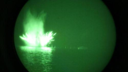 """Elite US Marine Unit Conducts Live-Fire Drills In Persian Gulf """"Message To Iran"""""""