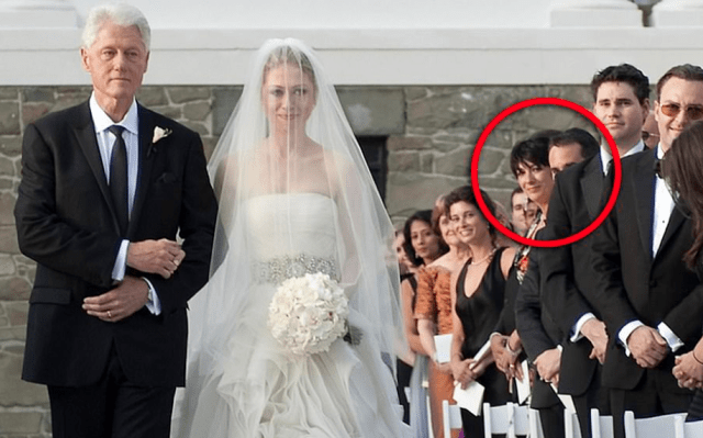 Maxwell at Chelsea Clinton's wedding in 2010/Daily Mail