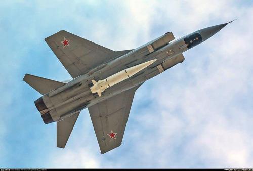 Russia Air lanza misil hipersónico en el Ártico a medida que aumentan las tensiones 2