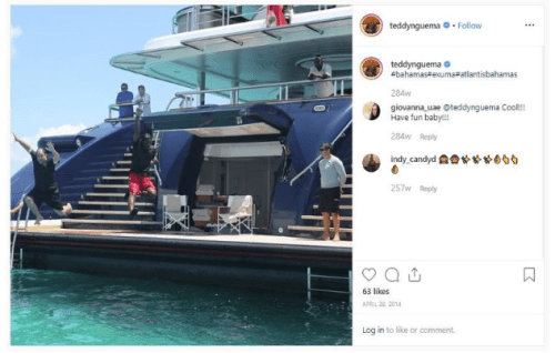 The Son Of A West African Dictator Can't Stop Showing Off His Wealth On Instagram