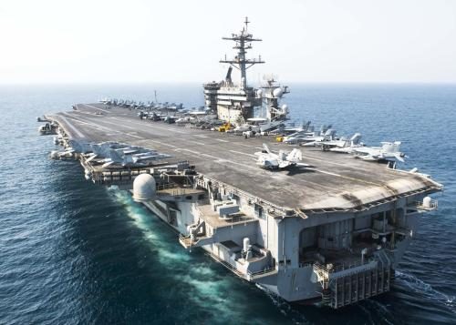 Pandemonium In The Pacific: US Carrier Diverts To Guam As COVID-19 Cases Spike Among Crew