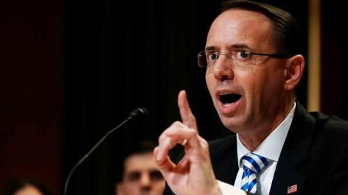 """""""I Am With Mueller"""": Newly Released Rosenstein Emails Reveal Crusade To Investigate Trump"""