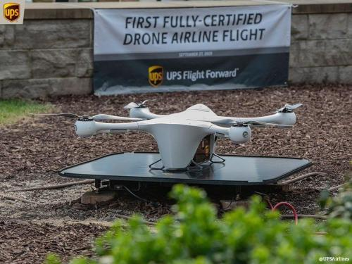 """""""History In The Making:"""" UPS Attains FAA's First Full Approval For Drone Airline"""