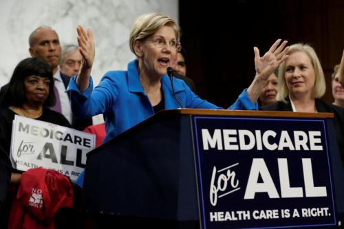 """""""Not One Penny In Middle-Class Tax Increases"""" - Warren Unveils Plan To Cover  Trillion Medicare-For-All"""