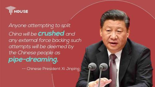 """Any Attempt To Divide China Will End In """"Shattered Bones"""", China's Xi Warns"""