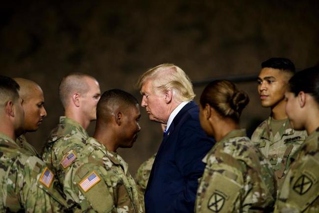 Trump Slams Fake News Ny Times 120k Troops To Iran