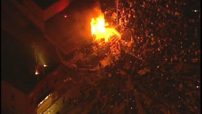 Minneapolis PD 3rd Precinct Set On Fire, Breached By Rioters