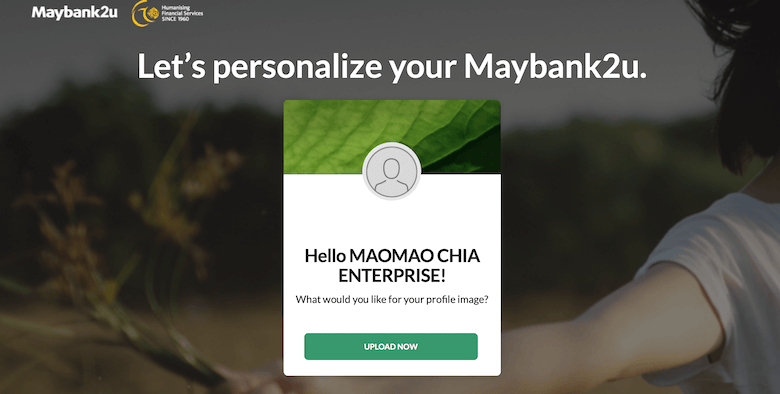 maybank2u,maomaochia enterprise 开银行户口