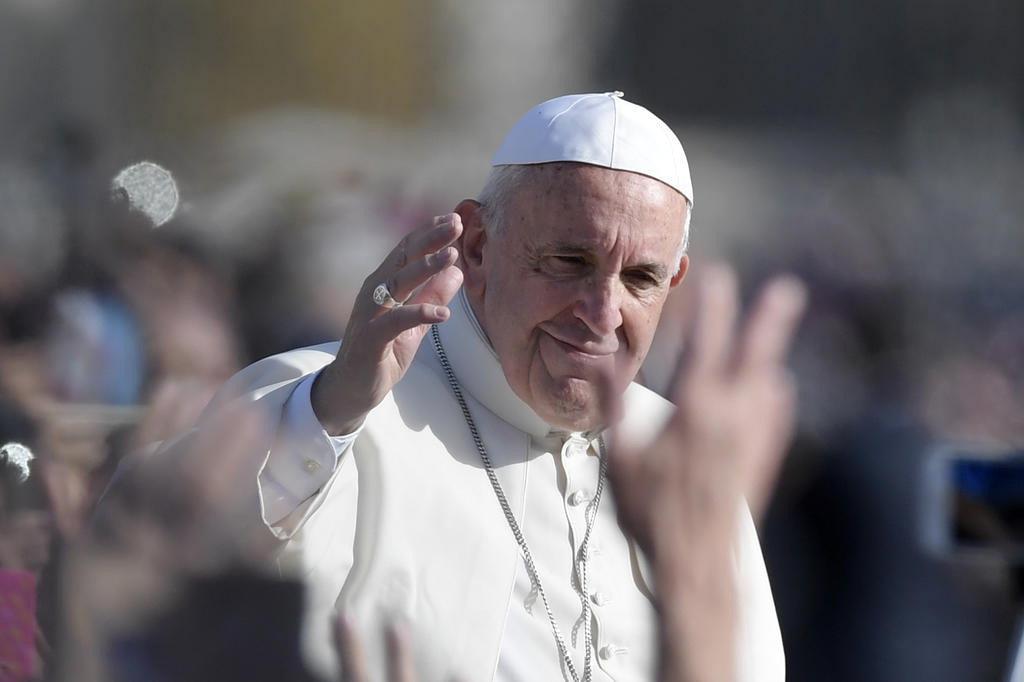 Papa autoriza de forma definitiva que padres perdoem o aborto TIZIANA FABI/AFP