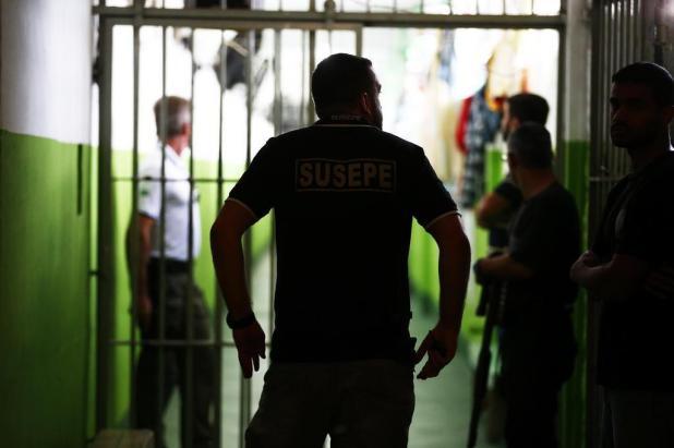 """""""Cobranças são praticamente diárias"""", diz juiz-corregedor sobre precariedade do sistema prisional Félix Zucco/Agencia RBS"""