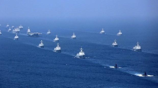 突破第一島鏈!中國航母遼寧號戰鬥群進入太平洋