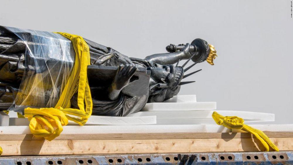 法國贈送美國的第二尊自由女神像將抵達紐約!
